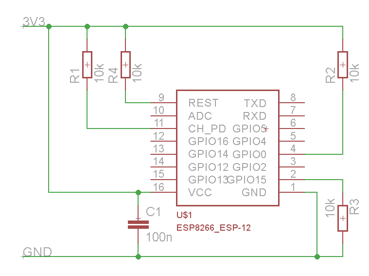 Stable power supply for esp module