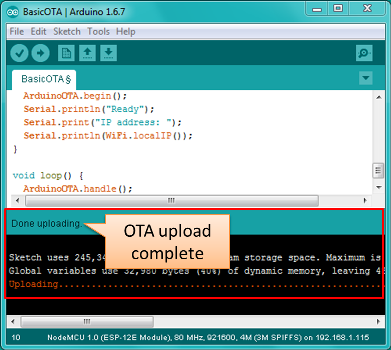 OTA Updates — ESP8266 Arduino Core documentation
