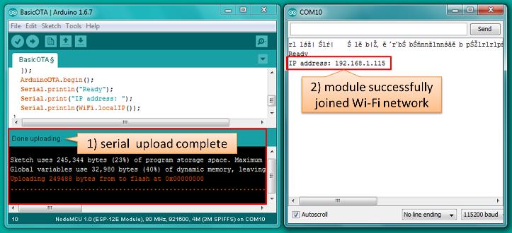 OTA Updates — ESP8266 Arduino Core documentation