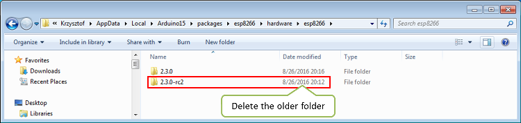 "How to resolve ""Board generic (platform esp8266, package"