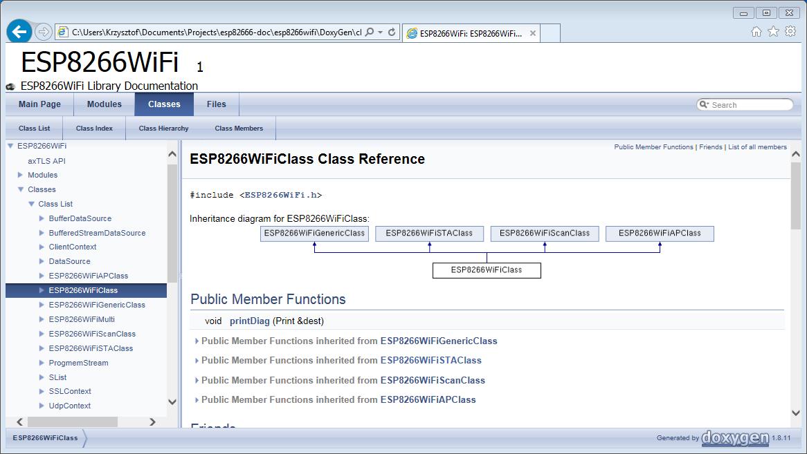 ESP8266WiFi library — ESP8266 Arduino Core 2 4 0 documentation